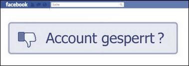 blog facebook gesperrt firmenname fake name