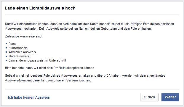 falsche facebook anfragen bei facebook